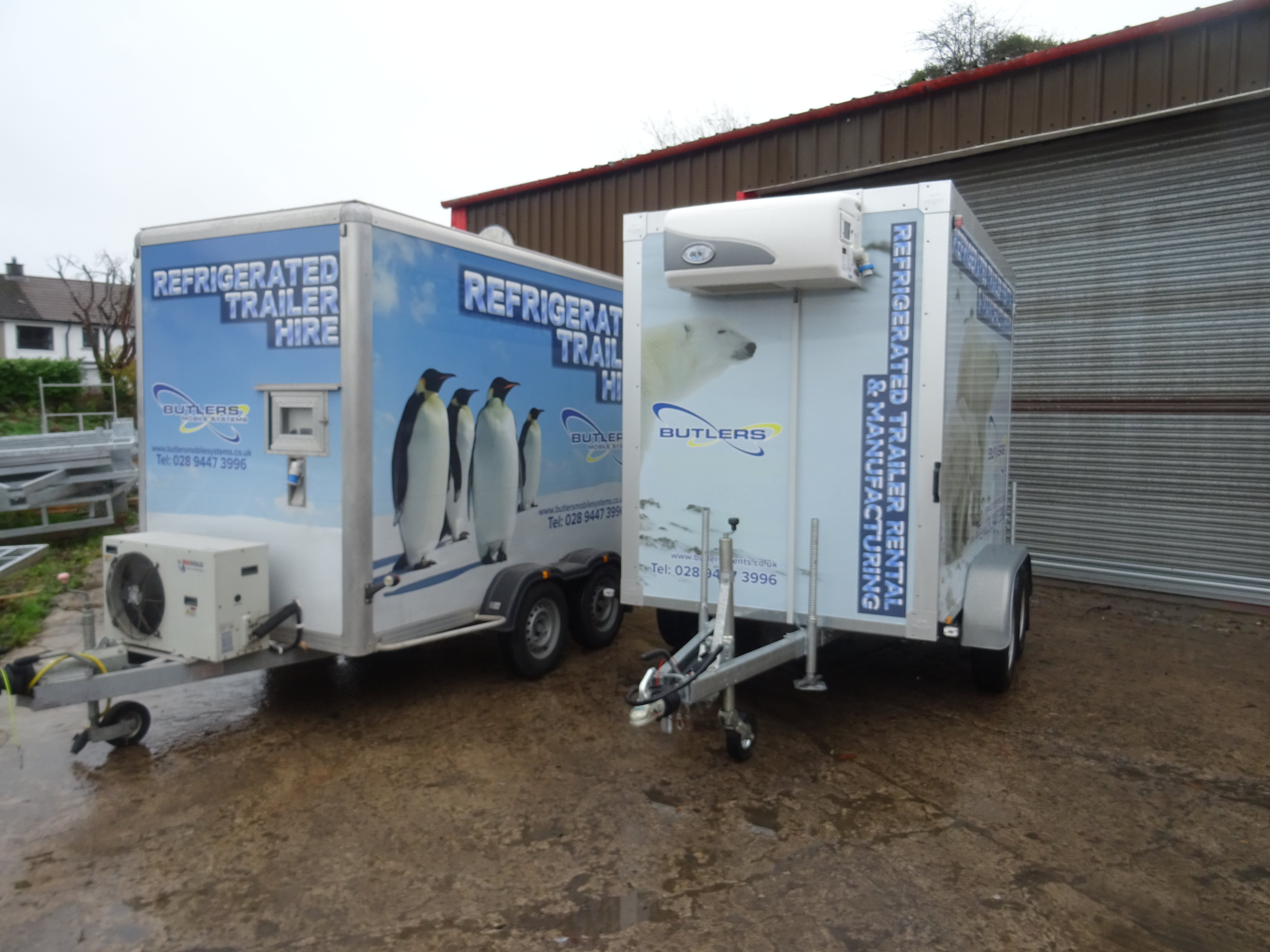 Refrigeration Trailer Hire | Butlers Events